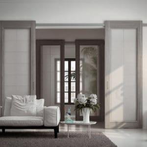 Раздвижные и складные межкомнатные двери Sofia