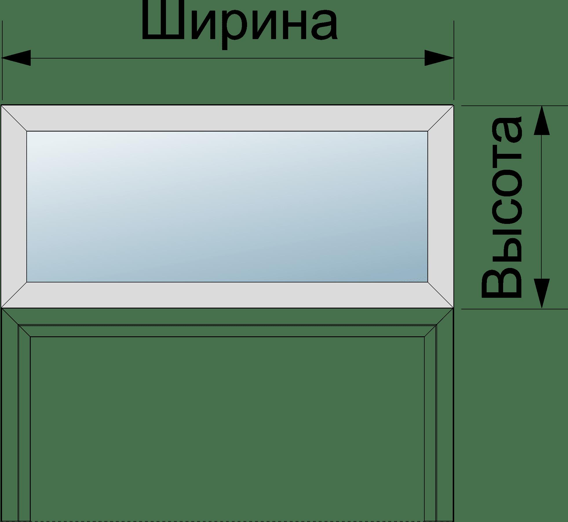 Окно верхнего света входной двери Hormann Thermo65