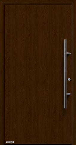 Входная дверь Hormann Thermo65 Модель 010 Ночной дуб