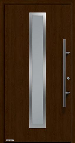 Входная дверь Hormann Thermo65 Модель 700A Ночной дуб