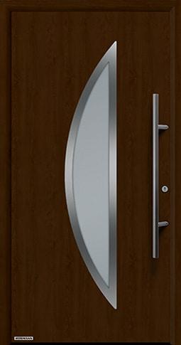 Входная дверь Hormann Thermo65 Модель 900S Ночной дуб