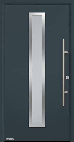Входная дверь Hormann Thermo65 Модель 700A Антрацит RAL 7016