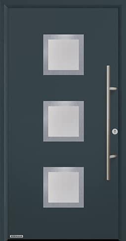 Входная дверь Hormann Thermo65 Модель 810S Антрацит RAL 7016