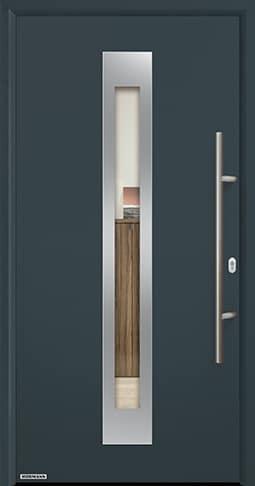 Входная дверь Hormann Thermo65 Модель 750F Антрацит RAL 7016