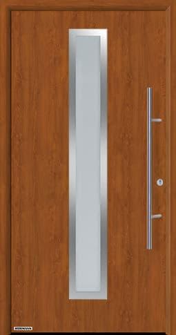 Входная дверь Hormann Thermo65 Модель 700A Золотой дуб