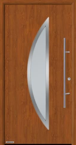 Входная дверь Hormann Thermo65 Модель 900S Золотой дуб