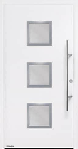 Входная дверь Hormann Thermo65 Модель 810S Белый RAL 9016
