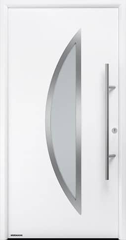 Входная дверь Hormann Thermo65 Модель 900S Белый RAL 9016