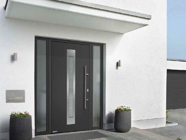 Входная дверь Hormann Thermo65 с окном